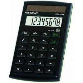 Калькулятор карманный Assistant AC-1195eco 8-разрядный AC-1195eco