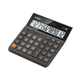 Калькулятор Casio DH-12-BK-S-EH 12-разрядный коричневый/черный