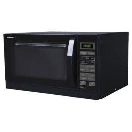 Микроволновая печь Sharp R7773RK 25л гриль 900Вт черный