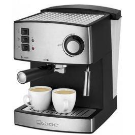 Кофемашина Clatronic ES 3643 850 Вт серебристый/черный