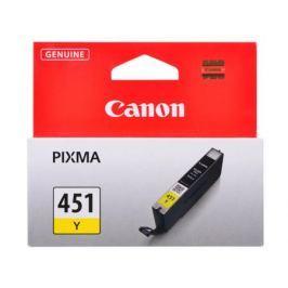 Картридж Canon CLI-451Y для MG6340, MG5440, IP7240 . Жёлтый. 344 страниц.