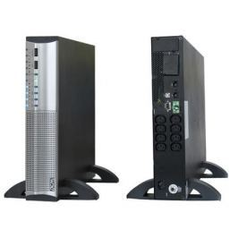 ИБП Powercom SRT-3000A Smart KING RT 3000VA/2100W RS232,USB,AVR,Rackmount/Tower (8 x IEC)