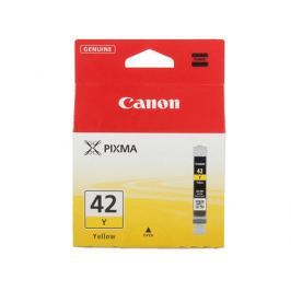 Картридж Canon CLI-42Y для PRO-100. Жёлтый. 284 фотографий.