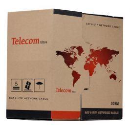 Сетевой кабель бухта 305м UTP 5e Telecom Ultra Pro TU634057 4 пары, 23AWG, Омедненный