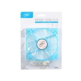 Вентилятор Deepcool XFAN 120U B/B 120x120x25 3pin 26dB 1300rpm 120g синий LED