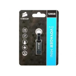 Флешка USB 128Gb Corsair Voyager Mini CMFMINI3-128GB черный/серый