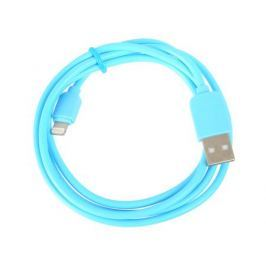 Кабель Ligthtning to USB Human Friends Super Link Rainbow L Blue, 1 м., для iphone 5\5s\5c\6\6+\6S\6S+, iPad 4\5\Air\Air2\mini\mini2\3\4, iPod nano7,