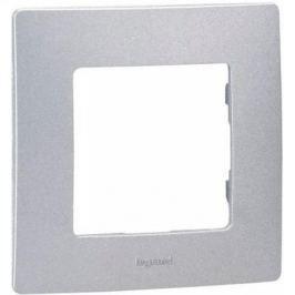 Рамка Legrand Etika 1 пост алюминий 672551