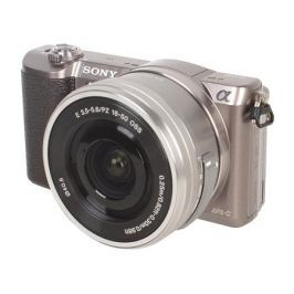 Фотоаппарат SONY ILCE-5100LT Brown (24.3Mp,SDXC, Wi-Fi, NFC) ['ILCE5100LT.CEC] (сменная оптика)