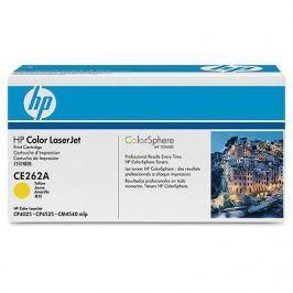 Картридж HP CE262A Желтый CLJ CP4025/CP4525