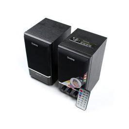 Колонки Dialog Colibri AC-21UP 2.0, Black (2 Вт, 300 - 20 000, mini Jack, Jack, USB)