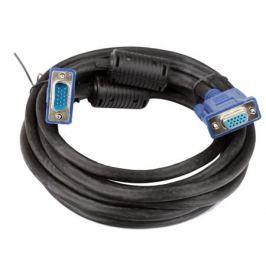 Кабель удлинительный Монитор-SVGA card (15M-15F) 3m 2 фильтра VCOM [VVG6460-3M]