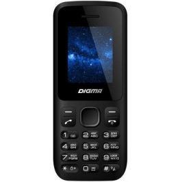 Мобильный телефон Digma A101 2G Linx черный моноблок 1.8