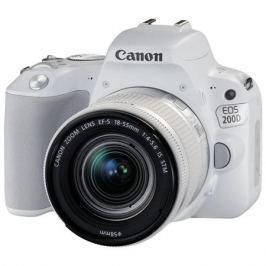 Фотоаппарат Canon EOS 200D KIT White (зеркальный, 18Mp, EF18-55 IS STM, 3