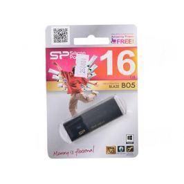 USB флешка Silicon Power Blaze B05 Black 16GB (SP016GBUF3B05V1K)