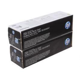 Картридж HP CE320AD (№128A) для цветных принтеров HP LaserJet Pro CP1525/CM1415fn . Черный. 2000 страниц. Двойная упаковка.