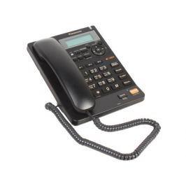Телефон Panasonic KX-TS2570RUB АОН, Caller ID, ЖК-Дисплей, Flash, Recall, Pause, Память 50, Спикерфон, Автоответчик, Wall mt.