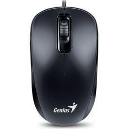 Мышь проводная Genius DX-110 чёрный USB