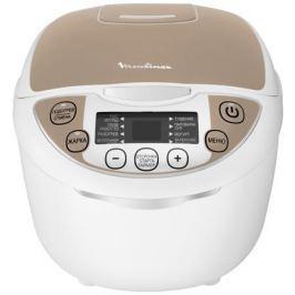 Мультиварка Moulinex MK706A32 750Вт 5л белый/бежевый