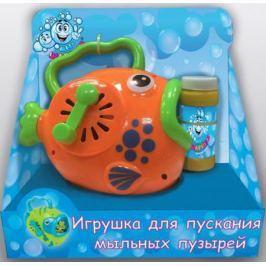 Мыльные пузыри 1Toy Мы-шарики мыльная машина, рыба с ручкой, 60 мл, коробка