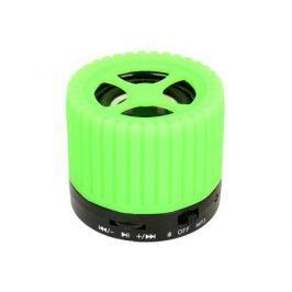Беспроводная BT-Колонка GINZZU GM-988G, bluetooth, 3W/TFcard/AUX/FM, зеленый