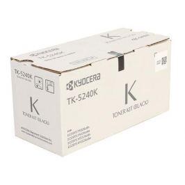 Тонер Kyocera TK-5240K для Kyocera ECOSYS M5521 cdn/cdw, M5526cdn/cdw, P5021cdn/cdw, P5026cdn/cdw. Чёрный. 2600 страниц.