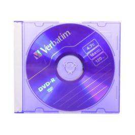 DVD-R Verbatim 4.7Gb 16х Slim