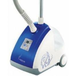 Отпариватель Endever ODYSSEY Q-503, для одежды, мощность 1500W, напряжение 220-240V, емкость бака 2500 мл, LED дисплей, цвет корпуса синий/белый