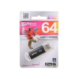 USB флешка Silicon Power Ultima II Black I-series 64GB (SP064GBUF2M01V1K)