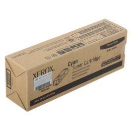 Картридж Xerox 106R01335 для Phaser 6125. Голубой. 1000 страниц.