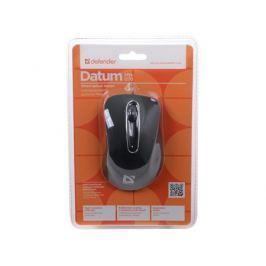 Мышь DEFENDER проводная Datum MM-070 Black(Черный) 4кн+кл 1000dpi
