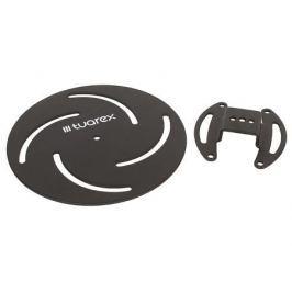 Потолочный кронштейн Tuarex Corsa 2010 black, для проекторов max 15 кг, 2 ст св., наклон и пов. +/-15°, от 110 мм.