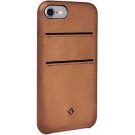 Чехол-накладка Twelve South Relaxed with pockets для iPhone 7. Материал натуральная кожа. Цвет светл