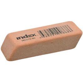 Ластик, каучук, оранжевый, 14х40х8 мм