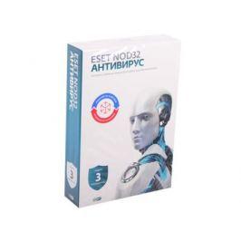 Антивирус ESET NOD32 Антивирус + Bonus универсальная лицензия на 1 год на 3ПК или продление на 20 месяцев (NOD32-ENA-1220(BOX)-1-1)