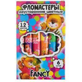 Набор фломастеров Action! FANCY 6 шт разноцветный двусторонние, FWP321-6 FWP321-6