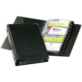 Визитница Durable на 200 карт PVC черный 238301