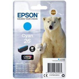 Картридж Epson C13T26124012 для Epson XP-600/700/800 голубой