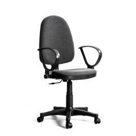 Кресло Recardo Assistant/D подлокотник D-образный (gtpRN/c38/Серый), ткань, 120кг, выс. спинки 565-620мм, ВШГ 995-1110*465*420мм, крест. пласт. 600мм