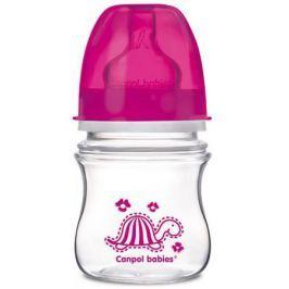 Бутылочка для кормления Canpol EasyStart 120 мл с 3 месяцев розовый 35/205