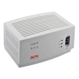 Стабилизатор напряжения APC Line-R LE600I 4 розетки 2 м белый
