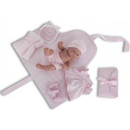 Кукла-младенец Munecas Antonio Juan Карла с пеленальным комплектом 26 см 4064P