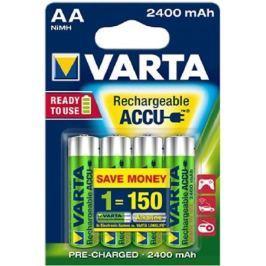 Аккумуляторы 2400 mAh Varta R2U AA 4 шт