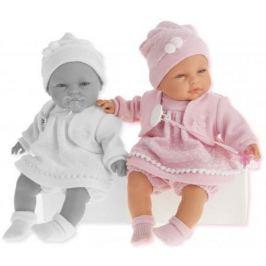 Кукла Munecas Antonio Juan Соня в ярко-розовом, плач., 37 см 1443V