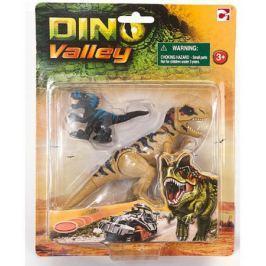 Набор динозавров Chap Mei Подвижная фигура Мегалозавра с маленьким динозавром 520059-1
