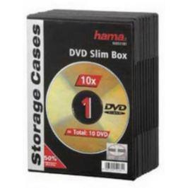 Коробка HAMA для 1 DVD пластик черный 10шт H-51181