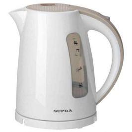 Чайник Supra KES-1726 2200 Вт 1.7 л пластик белый бежевый