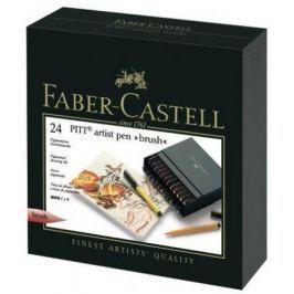 Набор капиллярных ручек капилярный Faber-Castell Castell 167147 24 шт разноцветный