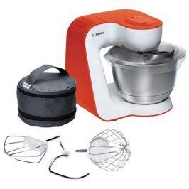 Кухонный комбайн Bosch MUM54I00 бело-красный
