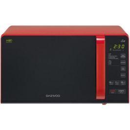 Микроволновая печь DAEWOO KQG-663R 700 Вт чёрно-красный